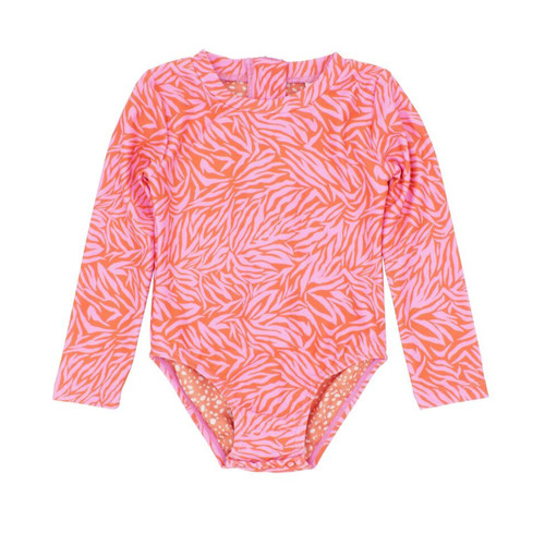 Wave Chaser Surf Suit, Coral Crush