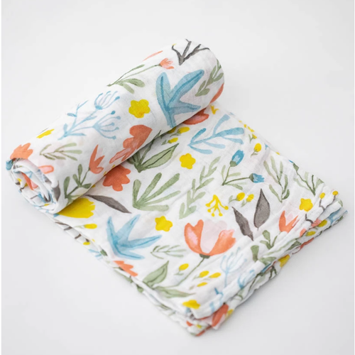 Muslin Swaddle, Meadow