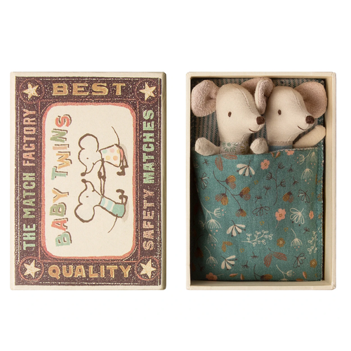 Baby Mice, Twins in a Matchbox