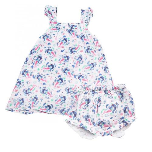 Dress & Bloomer Set, Mermaids