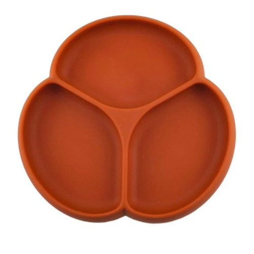 Silicone Suction Plate, Rust