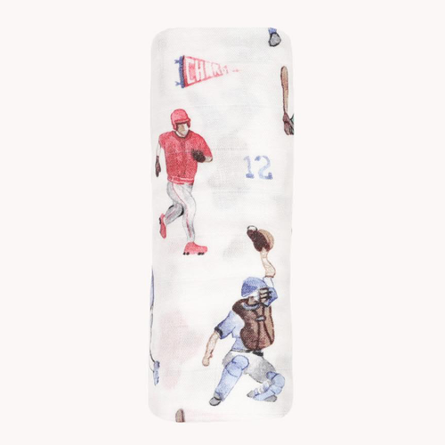 Deluxe Muslin Swaddle, Home Run