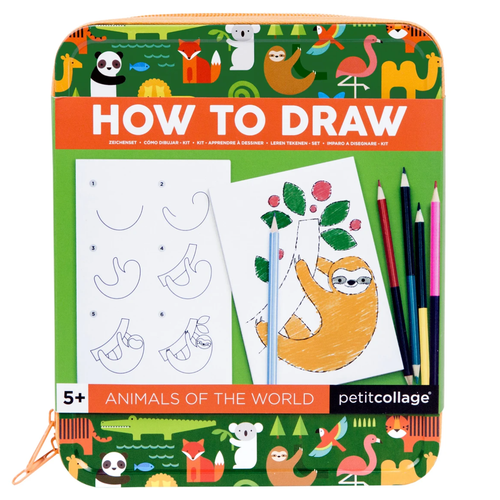 How to Draw, Animals of the World