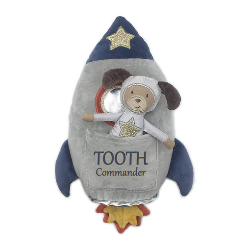Spaceship 'Tooth Commander' Pillow & Doll Set