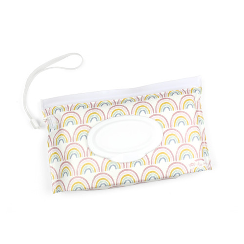 Reusable Wipes Pouch, Rainbow