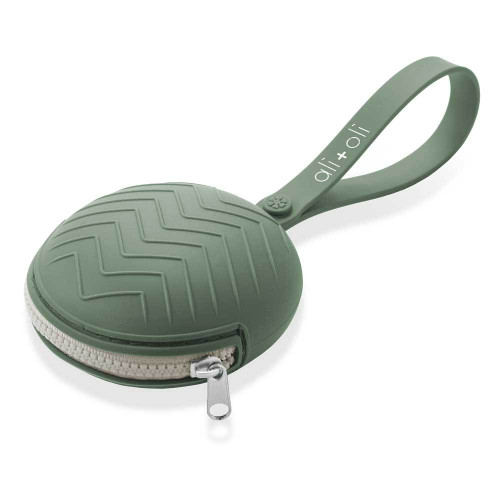 Silicone Pacifier Case, Army Green