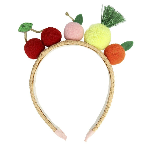 Fruit Pom Headband