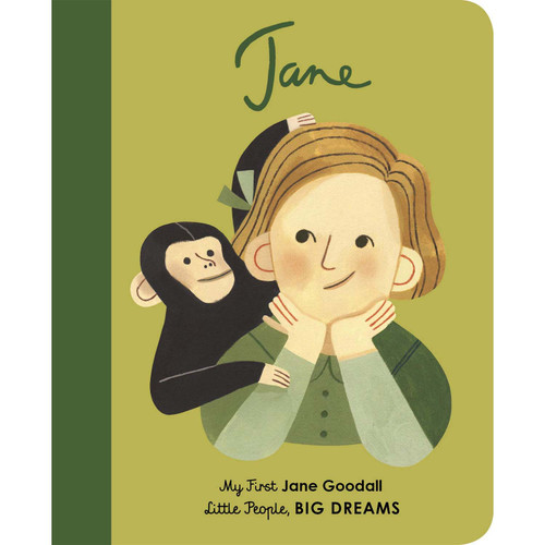 My First Jane Goodall Board Book