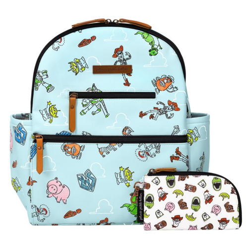 Petunia Pickle Bottom Ace Backpack, Toy Story Leatherette Disney Collaboration