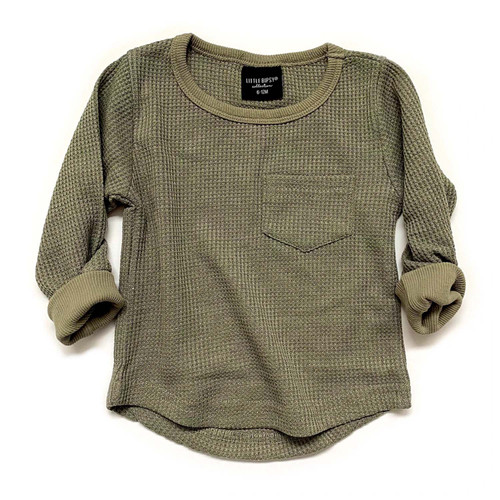 Thermal Pullover, Pine