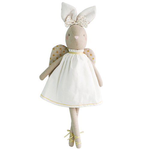 Abby Angel Bunny, Ivory