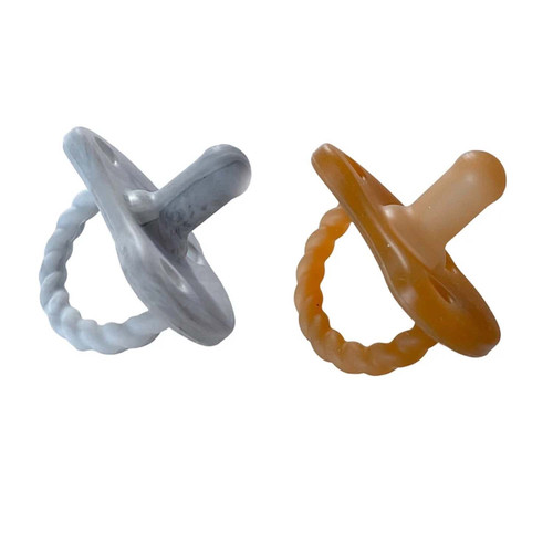 2 Pack Pacifier Twist / Howlite & Natural