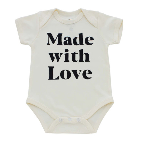 Graphic Bodysuit, Made with Love