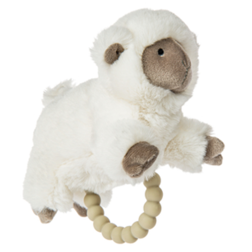 Lamb Teething Rattle