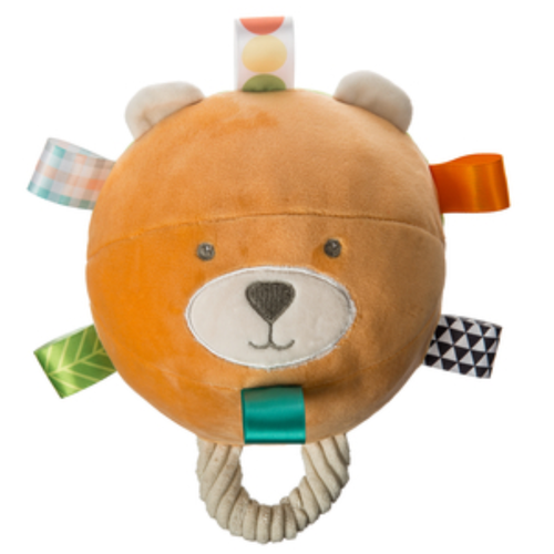 Taggies Chime/Crinkle/Squeaker Ball, Bear & Frog
