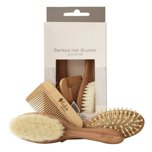 3-Piece Baby Brush Set