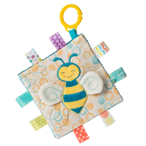 Crinkle Stroller Toy & Teether, Buzzy Bee