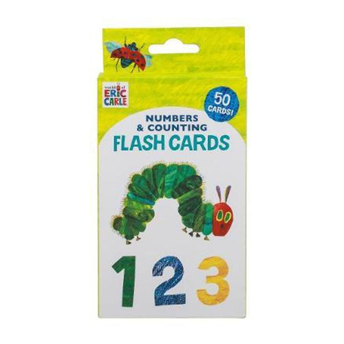 World of Eric Carle, Numbers & Counting Flash Cards