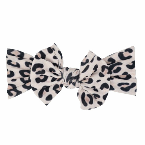 Classic Knot Bow, Cheetah