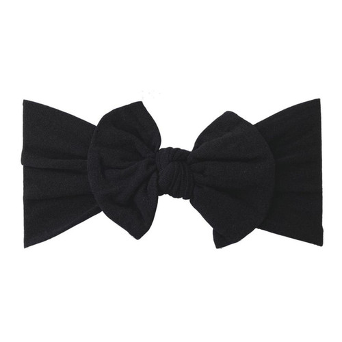 Classic Knot Bow, Black