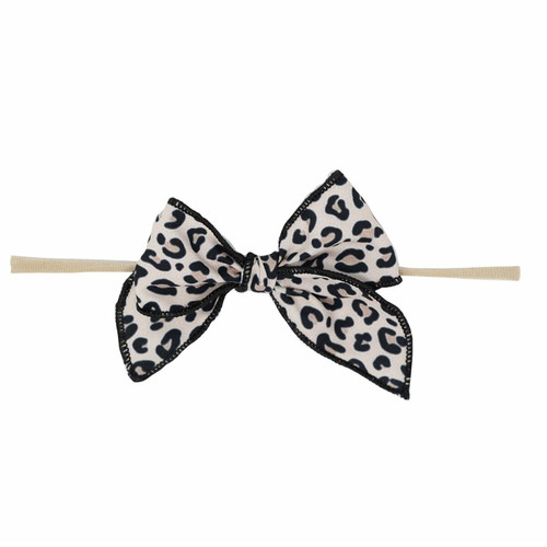 Skinny Edged Bow, Cheetah