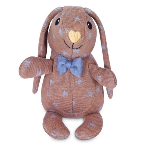 Organic Knit Patterned Bunny, Duke
