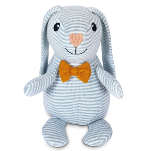 Organic Knit Patterned Bunny, Dapper