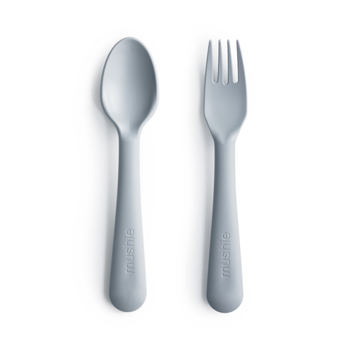 Fork and Spoon Set, Cloud