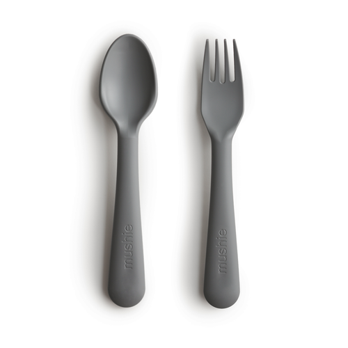 Fork and Spoon Set, Smoke