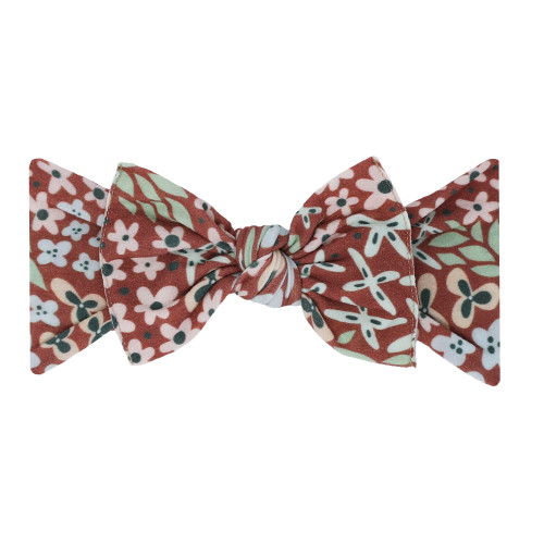 Knot Bow, Spice Floral