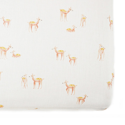 Deer Crib Sheet