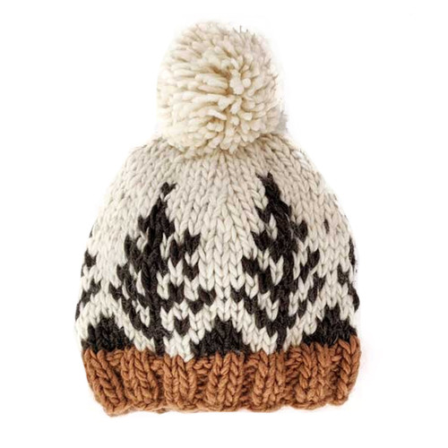 Forest Knit Pom Hat