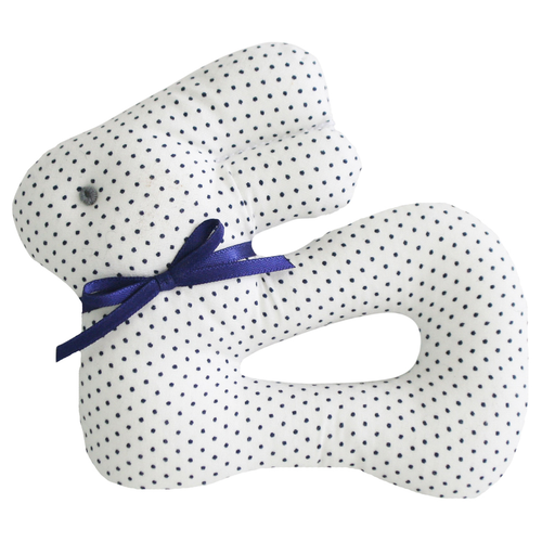 My First Bunny Rattle, Navy Spot