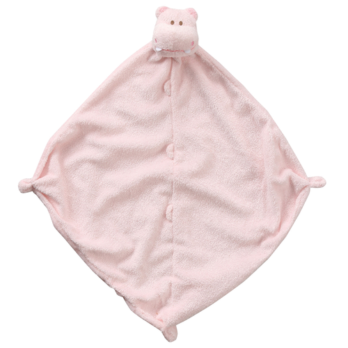 Pink Hippo Security Blankie