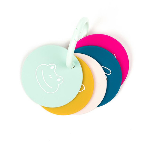 Teething Flashcards, Party Animals