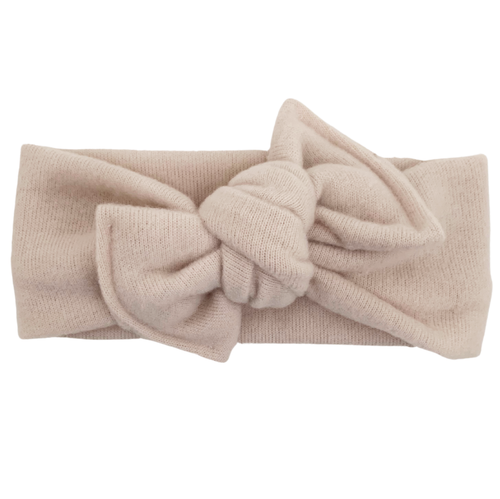 Headwrap Bow, Ivory Sweater