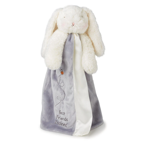 Bloom Bunny Buddy Blanket, Grey
