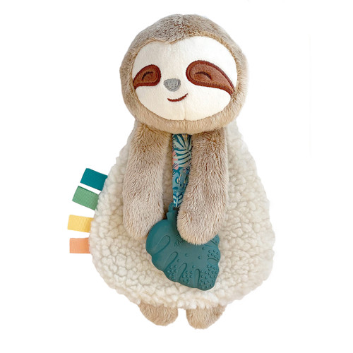 Itzy Lovey™ Plush Teether Toy, Sloth