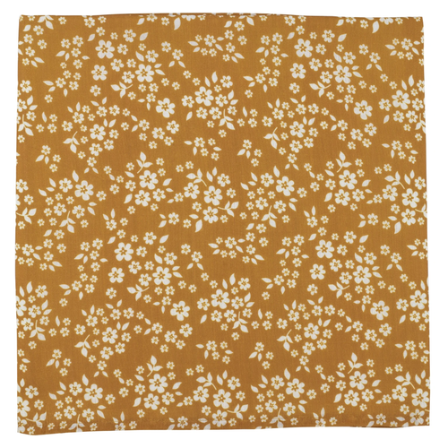 Muslin Swaddle, Whimsy Floral Mustard