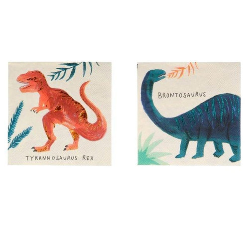 Small Napkins, Dinosaur Kingdom