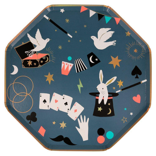 Magic Dinner Size Party Plates