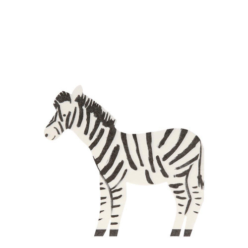 Safari Zebra Party Napkins