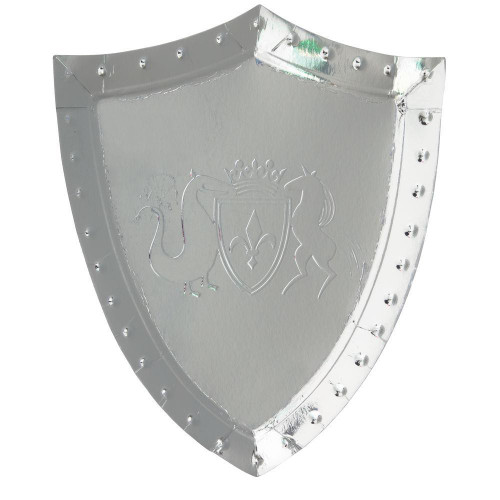 Knight's Shield Party Plates
