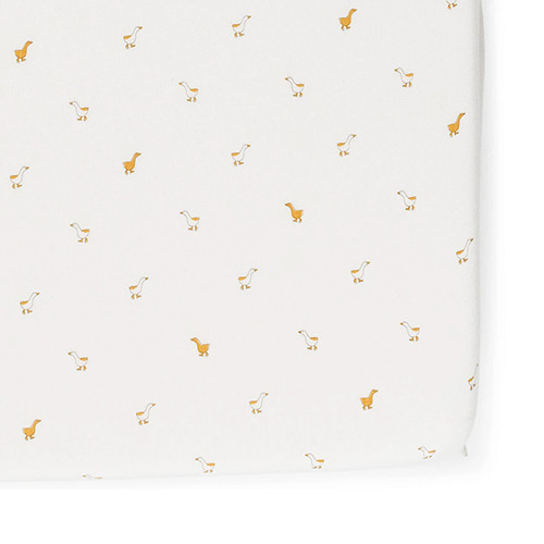 Hatchling Duck Crib Sheet