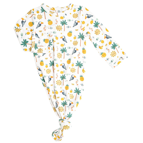 Knotted Gown, Petite Tropicale