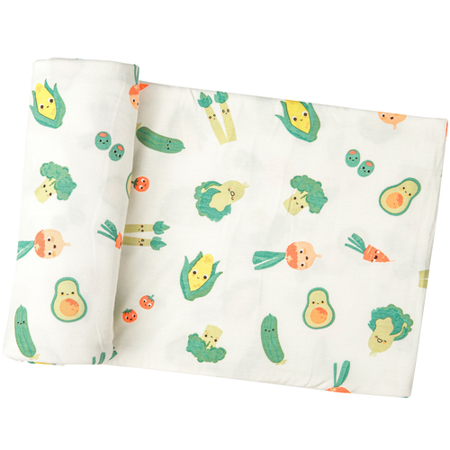 Bamboo Swaddle, Healthy Greens