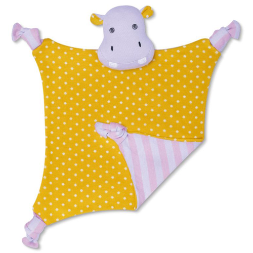 Coco Hippo Organic Security Blanket