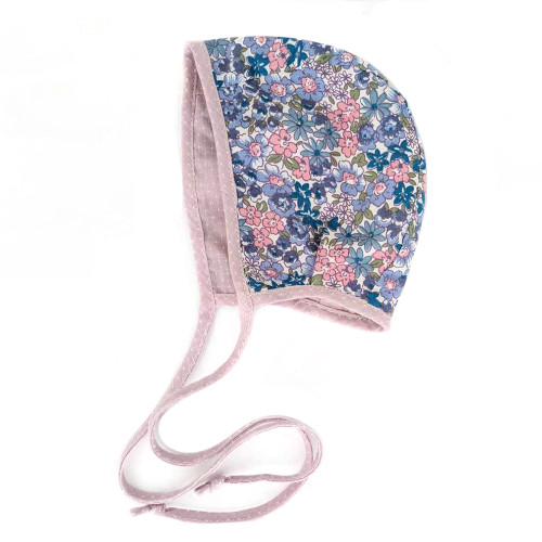 Twilight Blooms Reversible Bonnet