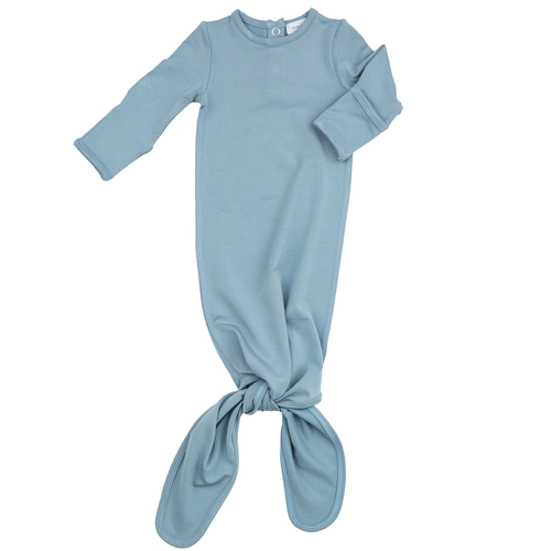 Knot Gown, Dusty Blue