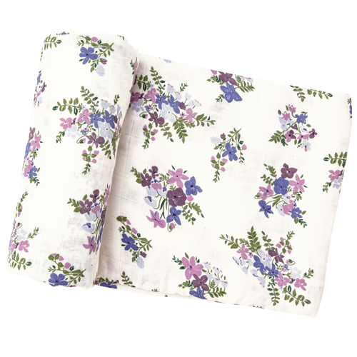 Muslin Swaddle, Lily of the Valley